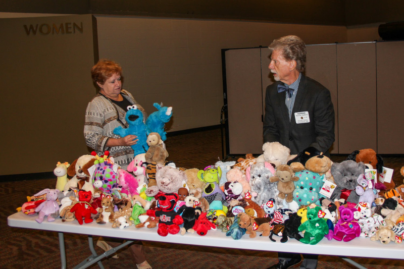 Stuffed toys for Children's Advocacy Center